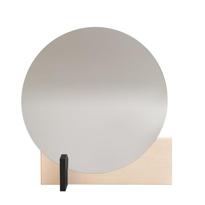 Hoffmann spejl af genstande fra vores dage vokset i aske / sort