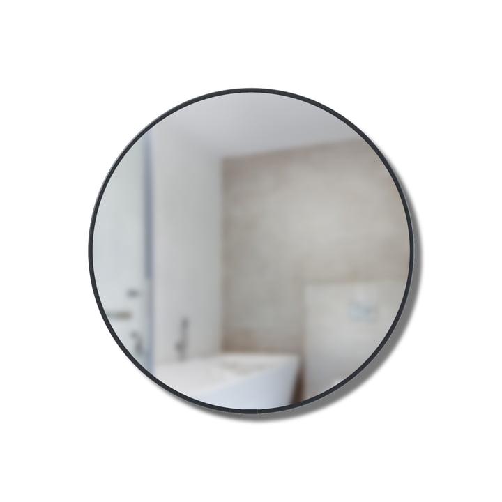 Cirko spejlhylde Ø 20 cm fra Umbra i sort
