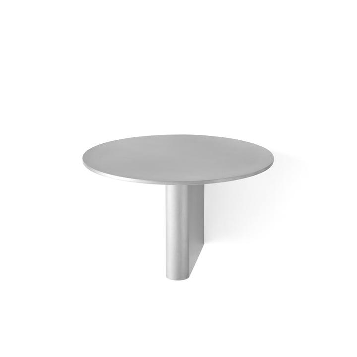 Søjlehylde JA1 Ø 25 cm efter & tradition i aluminium