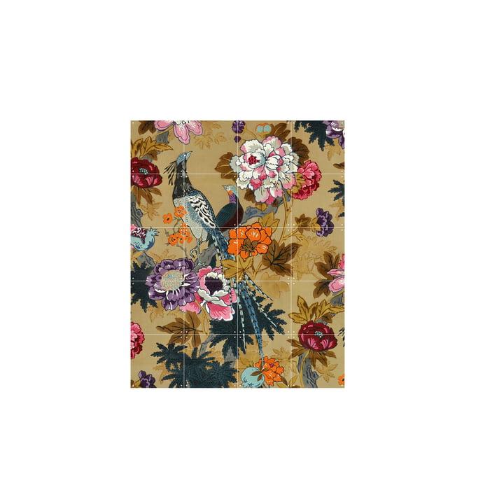 Tropiske fugle (Morton Sundour Fabrics Ltd, England) 80 x 100 cm af IXXI
