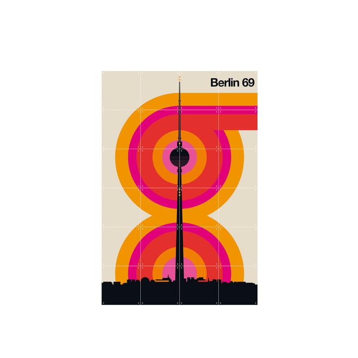 Berlin 69 (Bo Lundberg) 80 x 120 cm af IXXI