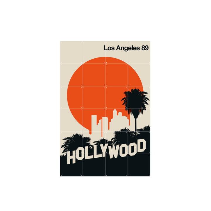 Los Angeles 89 (Bo Lundberg) 80 x 120 cm af IXXI