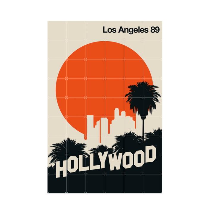 Los Angeles 89 (Bo Lundberg) 120 x 180 cm af IXXI