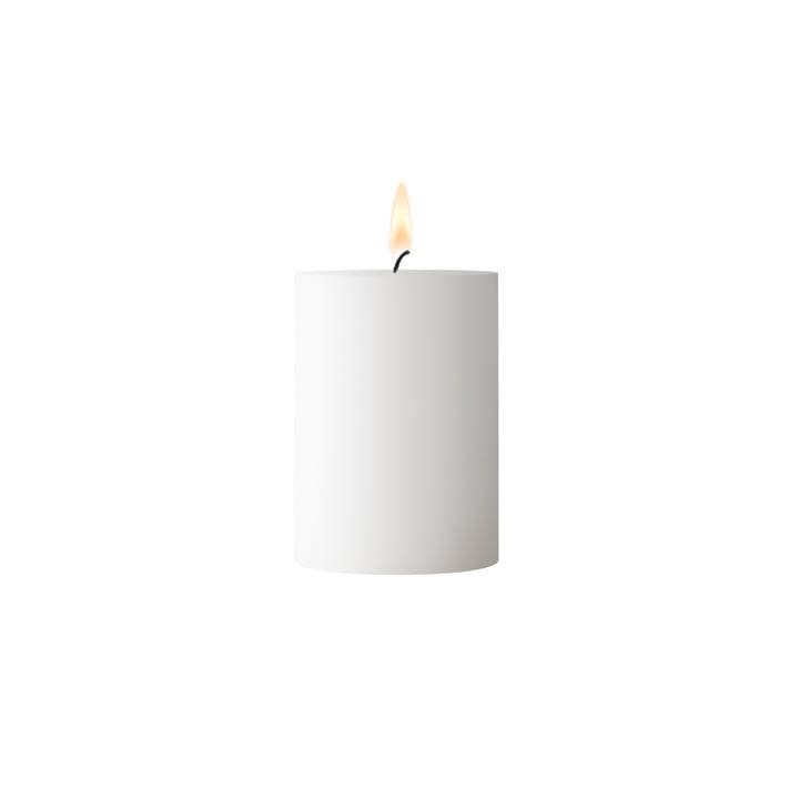 Hvidt søjlelys 7 cm høj