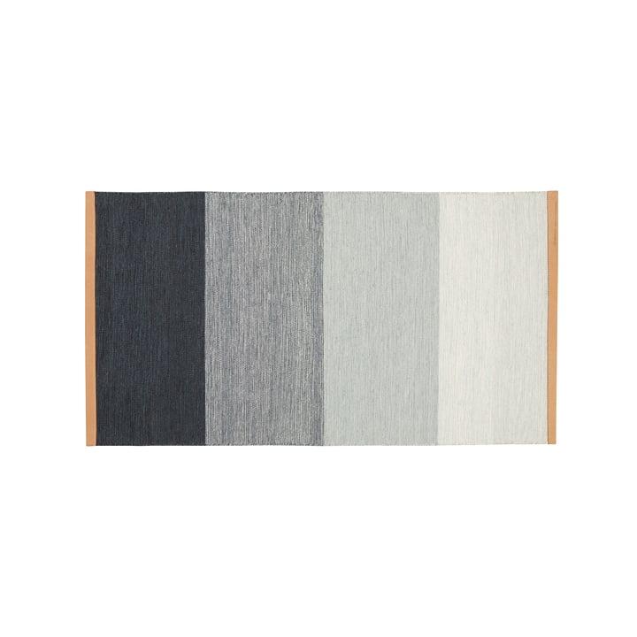 Felttæppe 70 x 130 cm fra Design House Stockholm i blå / grå