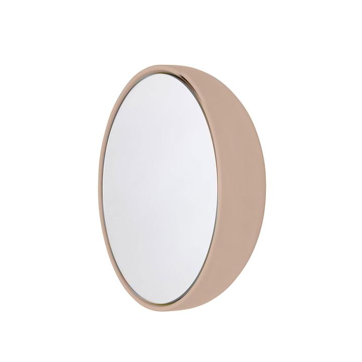 Boble spejl Ø 23,2 cm fra Schönbuch i hud