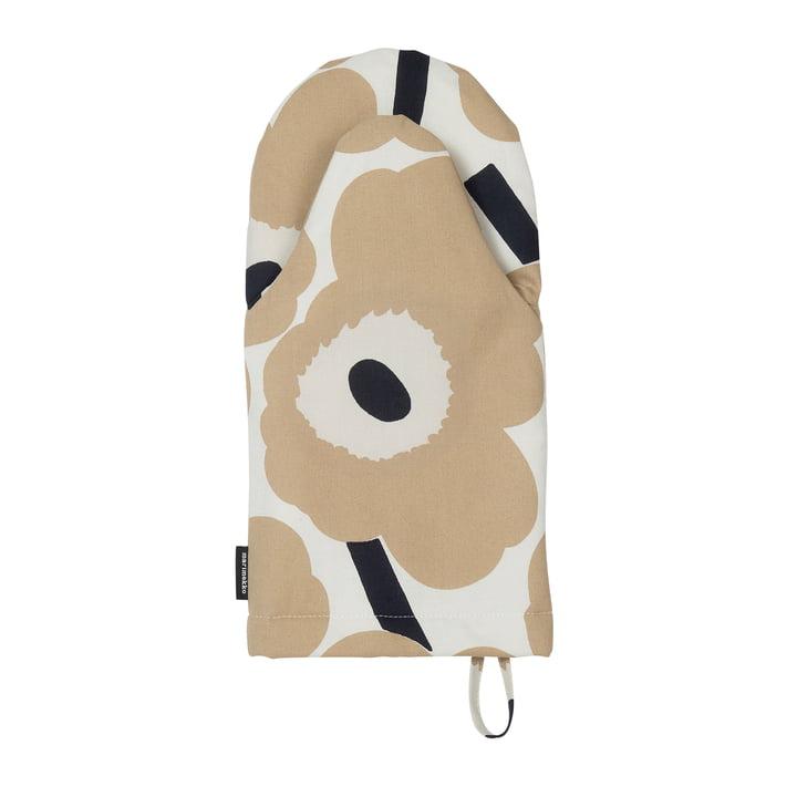 Pieni Unikko, off-white / beige / mørkeblå af Marimekko