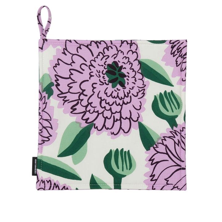 Pieni Primavera, hvid / lilla / grøn af Marimekko