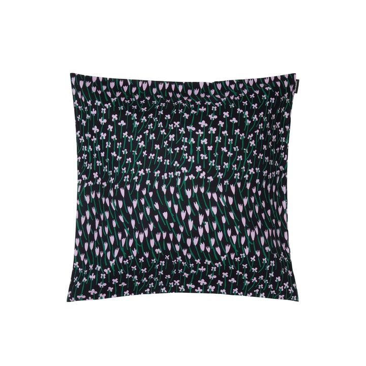 Apilainen pudebetræk 45 x 45 cm, mørkeblå / lilla / grøn af Marimekko