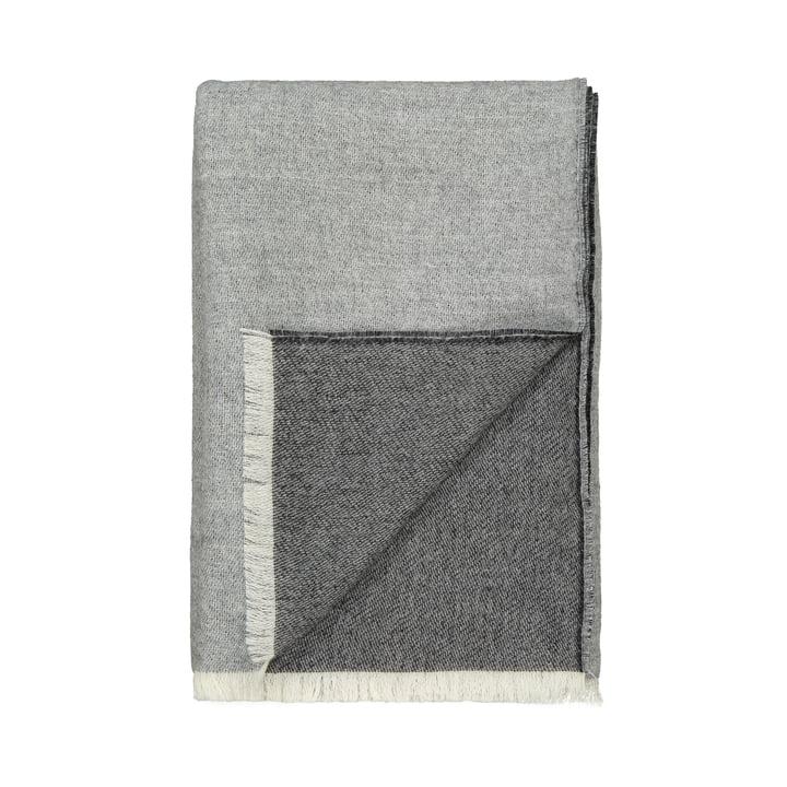 Venedig tæppe, hvid / grå af Elvang