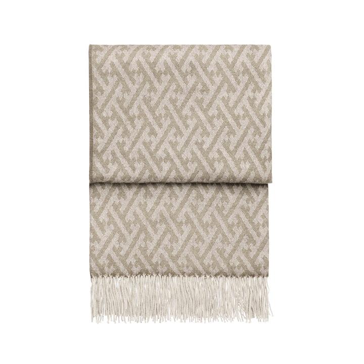Fantastisk tæppe, beige / hvid fra Elvang