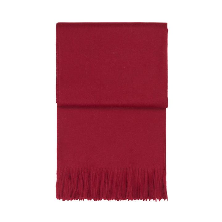 Klassisk tæppe, bordeaux af Elvang