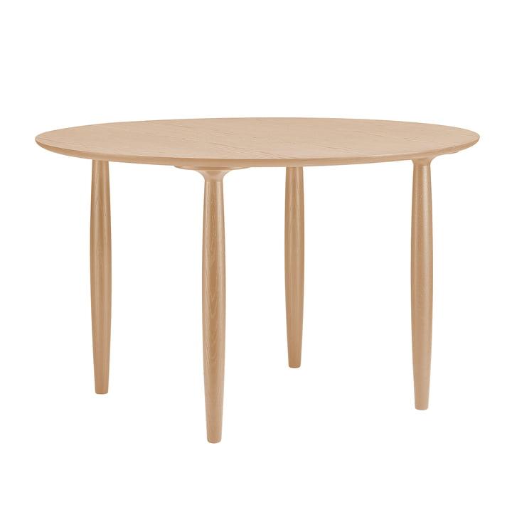 Oku spisebord Ø 120 cm af Norr11 i naturlige eg