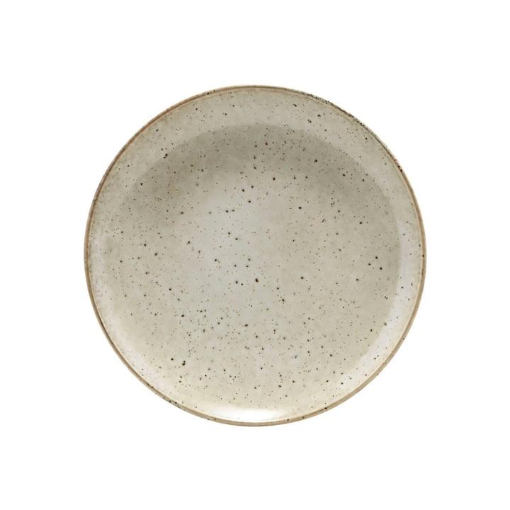 Lertøjsplade Ø 21,4 cm, grå af House Doctor