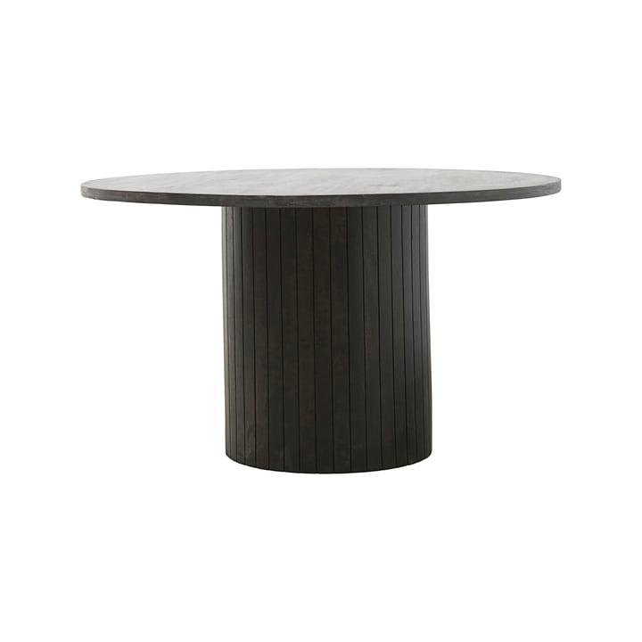Søjle spisebord Ø 130 x H 74 cm af House Doctor i sort