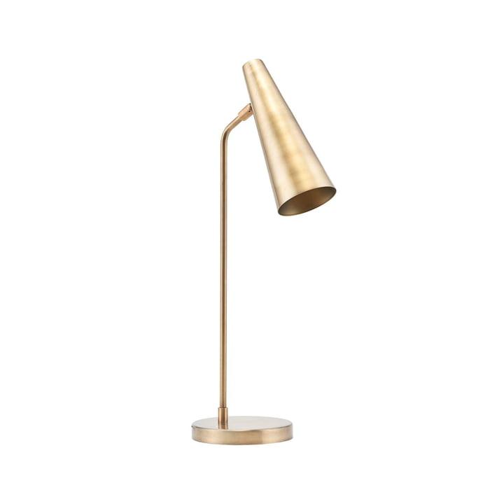 Præcis bordlampe H 52 cm af House Doctor i messing