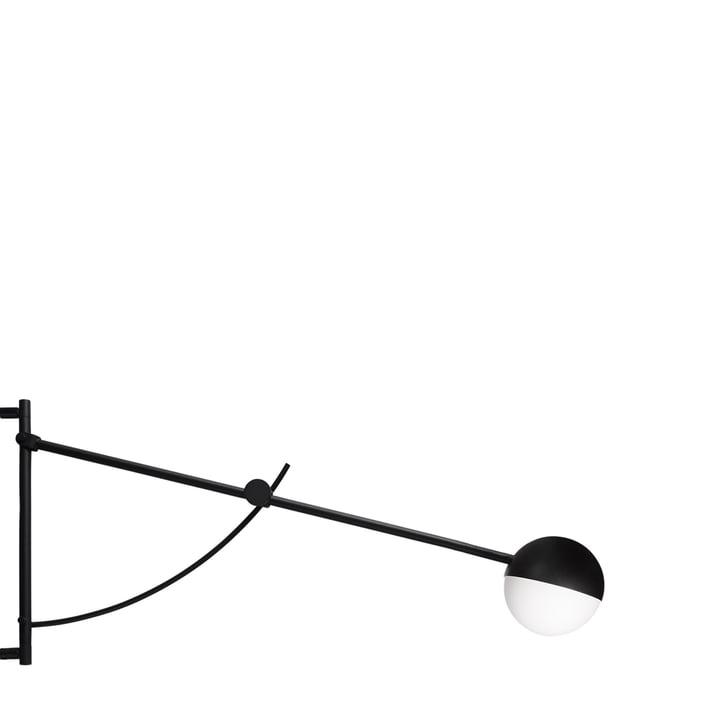 Balancer væglampe fra Northern i sort