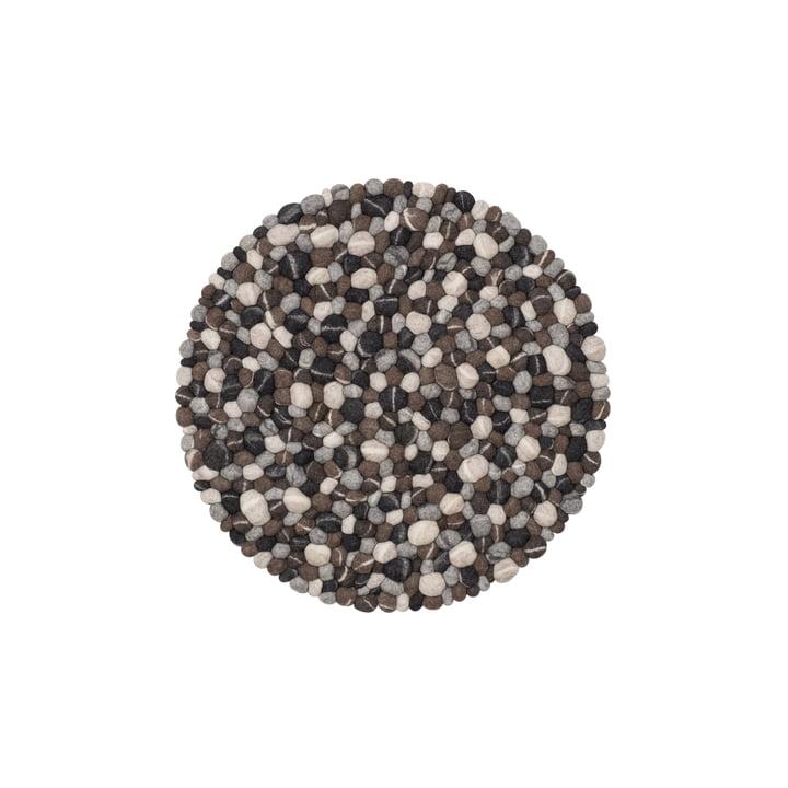 Hardy filtkugletæppe Ø 50 cm fra myfelt