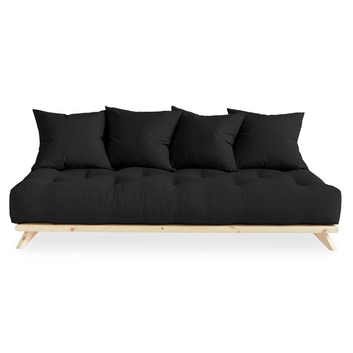 Senza sofa af Karup Design i natur fyrretræ / mørkegrå