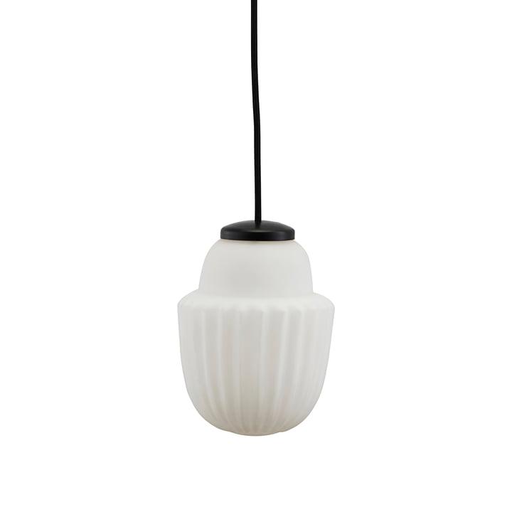 Acorn pendellampe Ø 13,5 x H 18,7 cm af House Doctor i hvidt