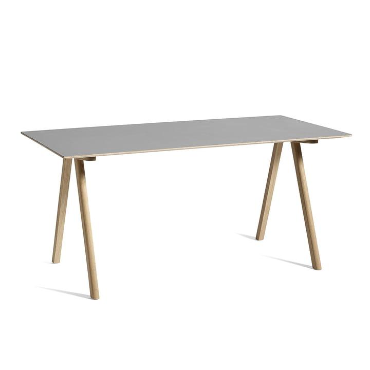 Copenhague CPH10 bord, 160 x 80 cm, eg / grå af Hay