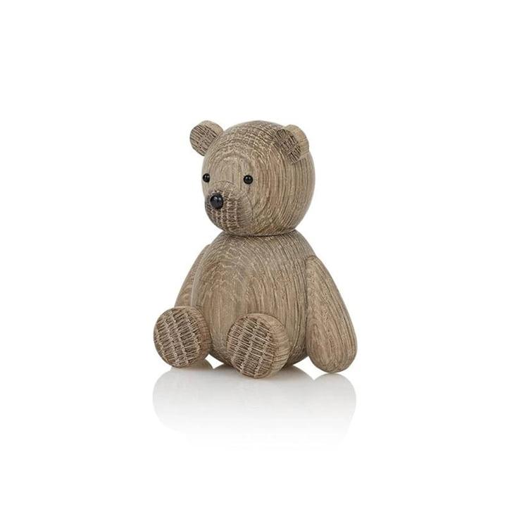 Teddy træfigur af Lucie Kaas i eg
