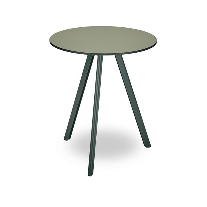 Overlappende bord Ø 62 cm af Skagerak i jagtgrønt