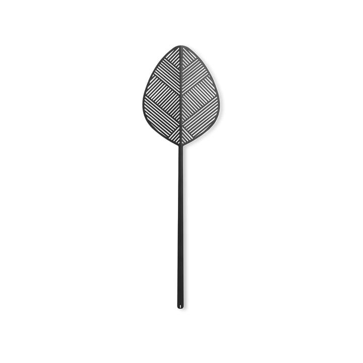 Leaflike metalplade Alva H 50,6 cm af Lucie Kaas i sort