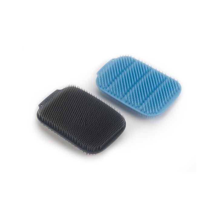 CleanTech svamp, blå / grå (sæt med 2) af Joseph Joseph