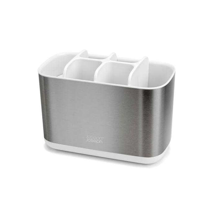 EasyStore Steel tandbørsteholder, stor / hvid af Joseph Joseph