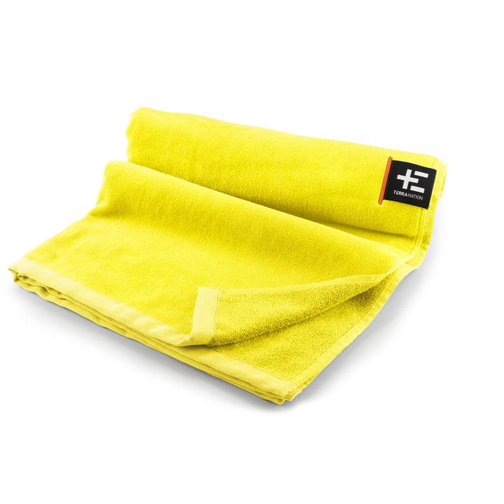 Kiva Moe strandhåndklæde 80 x 160 cm af Terra Nation i gult