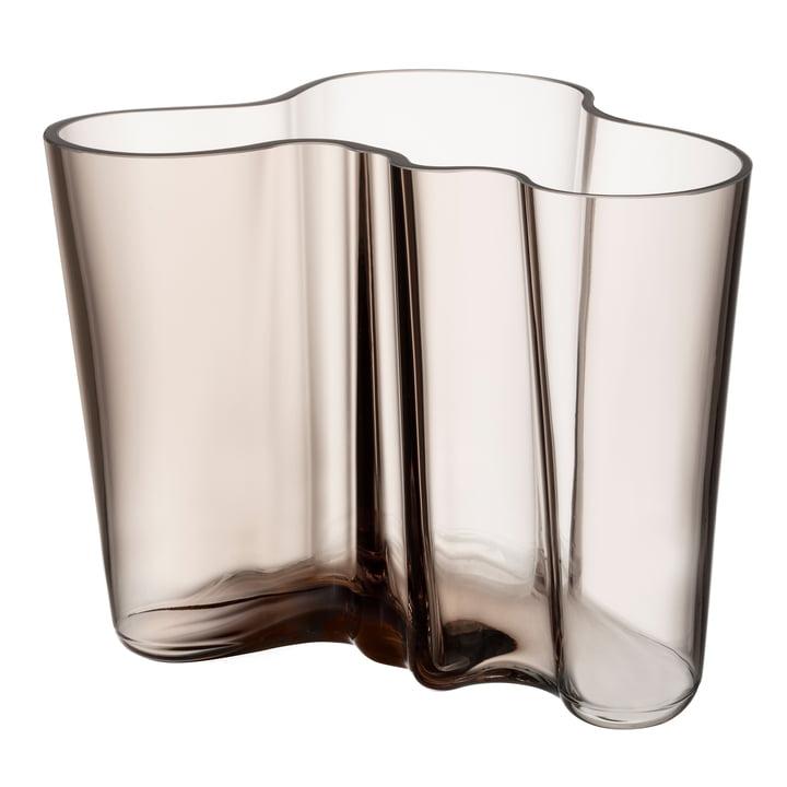 Aalto Vase Savoy 160 mm fra Iittala i linned