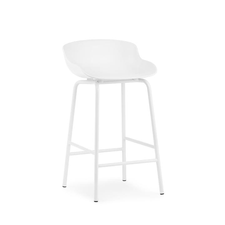 Hyg barstol H 65 cm fra Normann Copenhagen i hvid
