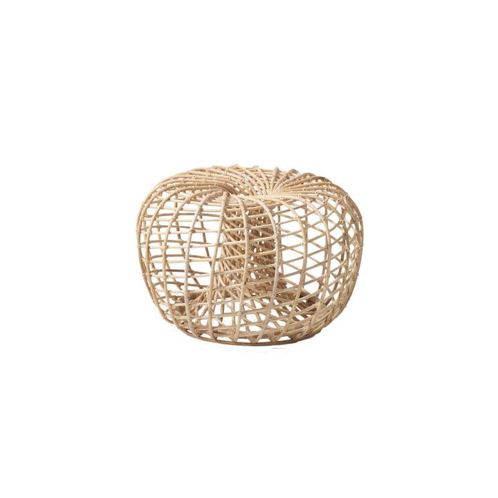 Nest skammel  indendørs Ø 65 cm, naturlig efter Cane-line