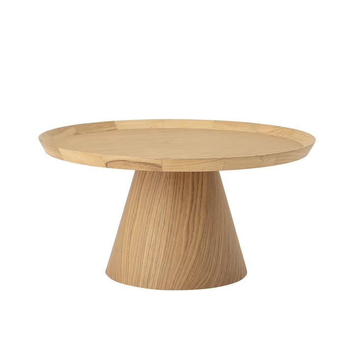 Luana sofabord Ø 74 x H 37 cm fra Bloomingville i egetræ