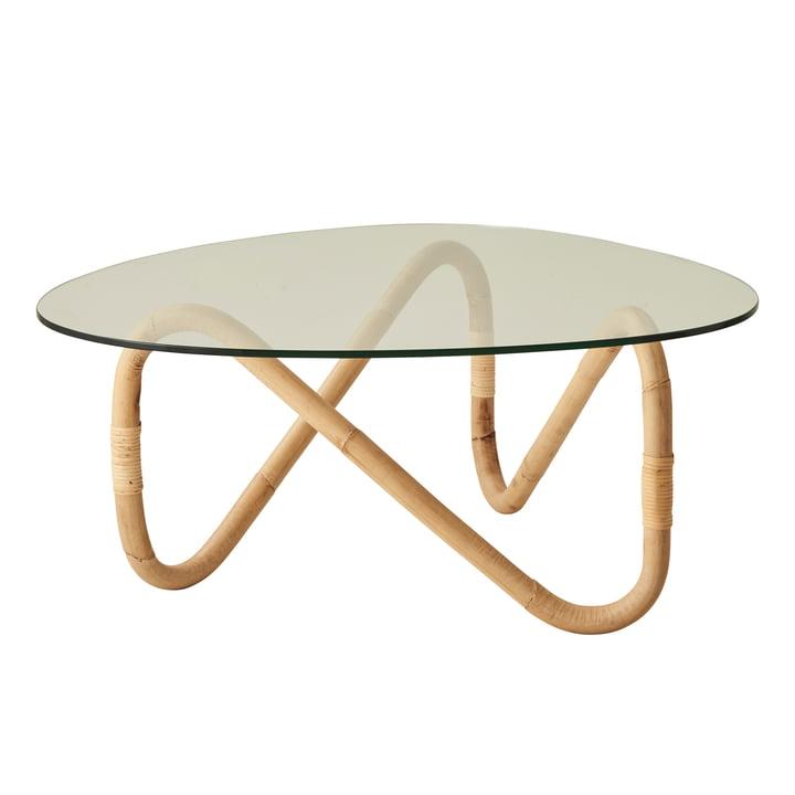 Wave sofabord, naturligt af Cane-line
