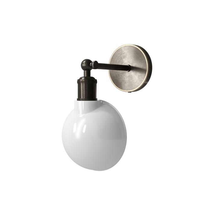 Walker væglampe, bronze / opal fra Menu