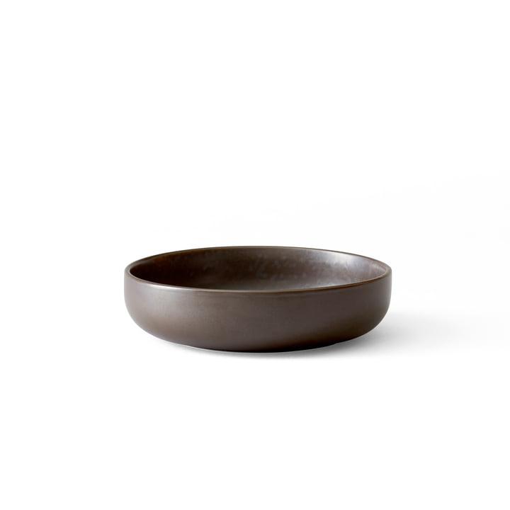 Menu - Ny Norm skål Ø 13,5 cm, lav, mørk glaseret