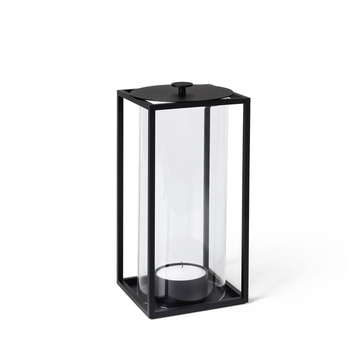 Light'In vindlys H 20 cm by Lassen i sort