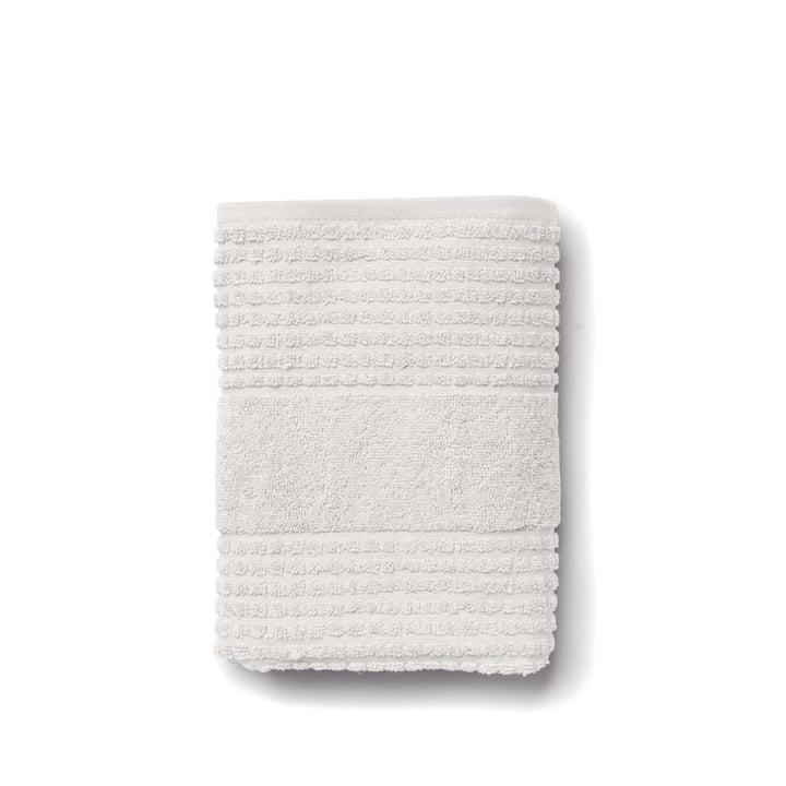 Tjek håndklæde fra Juna i lysegrå