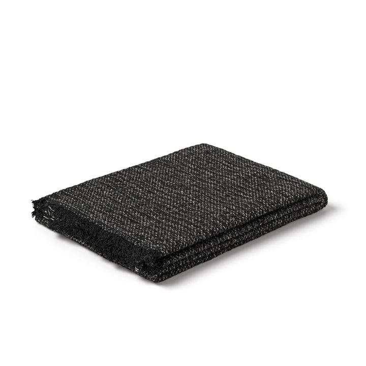 Reflektionshåndklæde fra Juna i sort