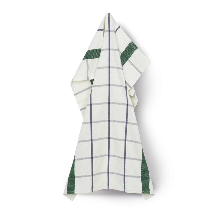 Terry tehåndklæde 50 x 70 cm af Juna i lysegrøn