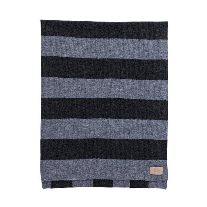 Sonno uldtæppe 130 x 170 cm, melange grå af OYOY