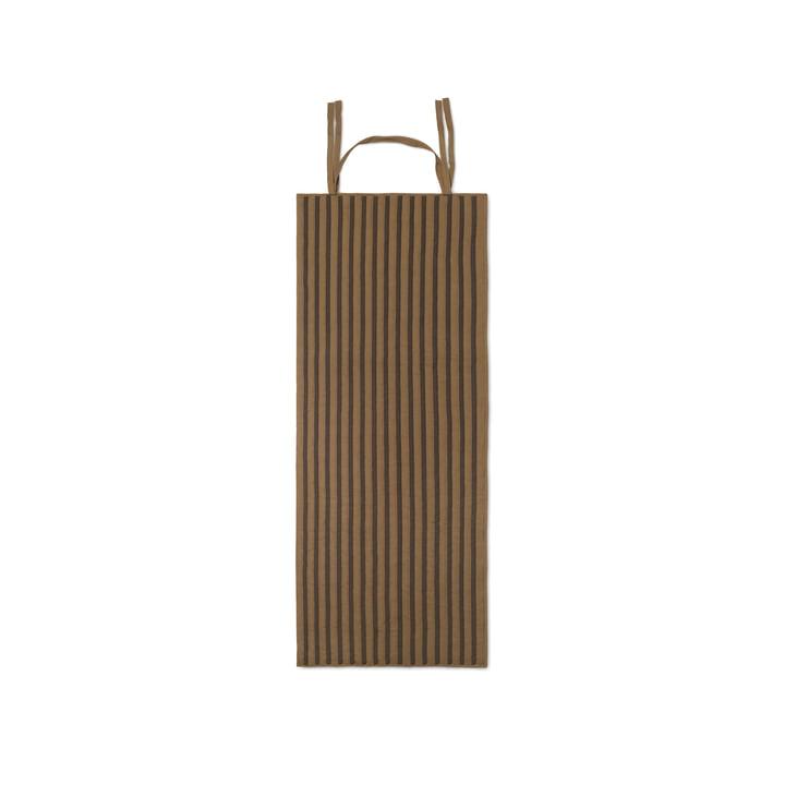 True rulletæppe af ferm Bor i tare / sort
