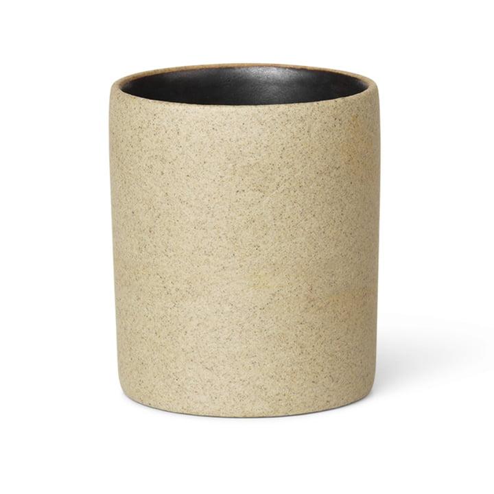 ferm Living - Bon tilbehør krus, beige / sort