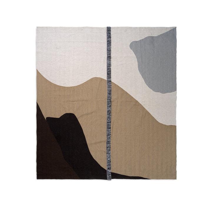 Vista sengetæppe 140 x 180 cm af ferm Bor i sand