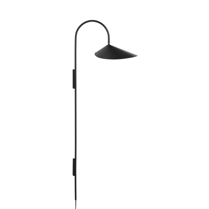 Arum Høj væglampe fra ferm Living in black