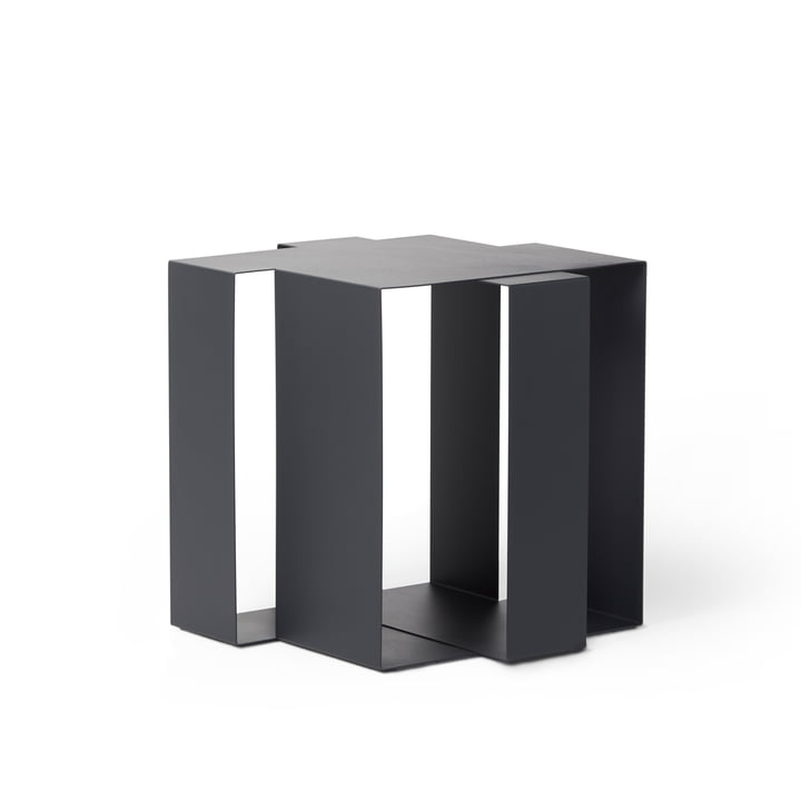 Shifted Square sidebord af Frederik Roijé i mørkegrå