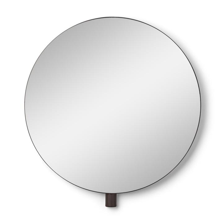 Kollage væg spejl Ø 50 cm fra Gejst i sort