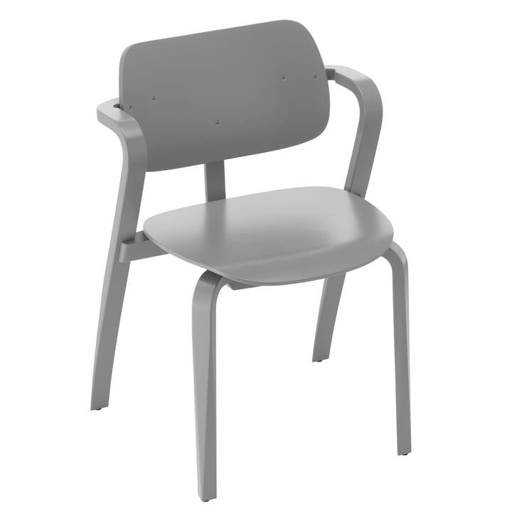 Aslak stol, malet grå af Artek